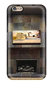 LsuWaPy14327mRuIS Slate Tile Fireplace In Contemporary Kitchen Awesome High Quality Iphone 6 Case Skin