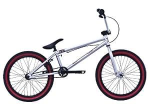 Black Eye NFG - Bicicleta Bmx de 11,74 kg, color plateado