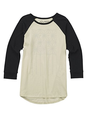 Burton Women's Caratunk Raglan 3/4 Sleeve Tee, Canvas W18, X-Large ()