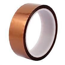 DealMux 30mm Width 33M Length High Temperature Heat Resistant Polyimide Kapton Tape