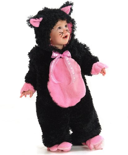Princess Paradise - Black Kitty Infant/Toddler Costume - Infant (6-12M) - Black ()