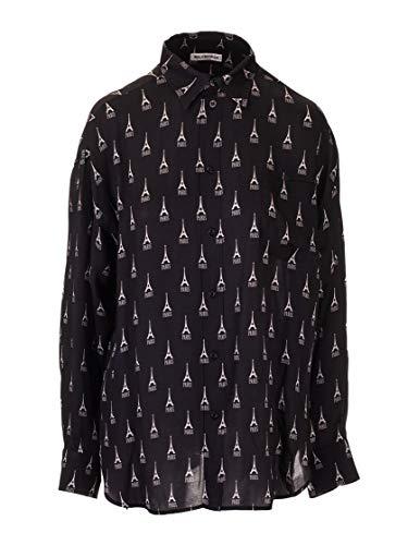 Balenciaga Luxury Fashion Womens 595040TGL981000 Black Shirt | Fall Winter 19