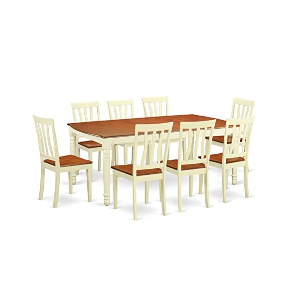 9 Pc Dinette set -Dinette Table and 8 Dining Chairs