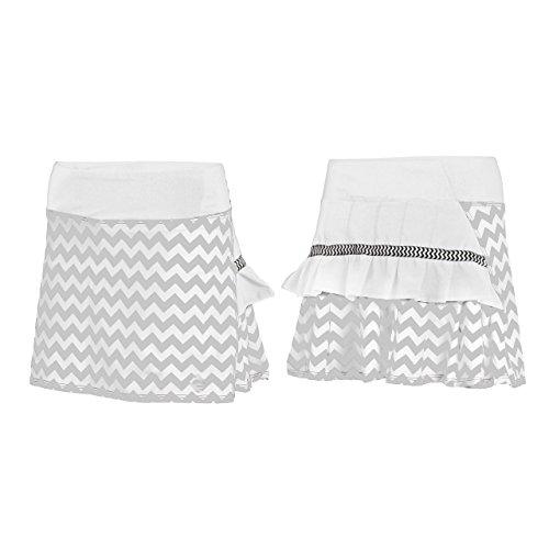AdEdge Performance Woven Tennis Skirt Chevron Print