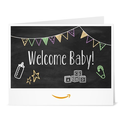 Amazon Gift Card - Print - Baby Chalk