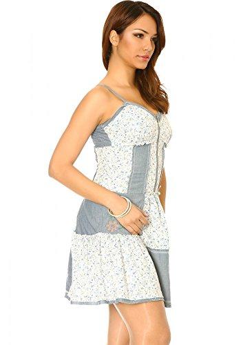 dmarkevous - Vestido - para mujer Azul