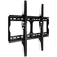 "Yes4All Heavy-duty TV Wall Mount Bracket for 30 32 36 40 42 46 50 55 60"" Plasma, LED, LCD TV, and PLASMA TV. 15 degree downward tilt, Support 120 lbs – Special Promotion. 600x430 mm VESA compliant - ²TZAUZ"