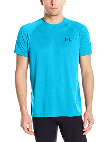 Under Armour Men's Tech Short Sleeve T-Shirt, Blue Shift/Stealth Gray, Small