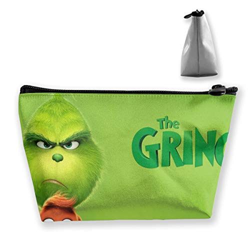 OMSQPJFW The Grinch Storage Bag Cosmetic Pouch Space Saver