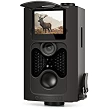 "Amcrest ATC-802 720P HD Game and Trail Hunting Camera - 8MP Dynamic Capture, Integrated 2"" LCD Screen, High-Sensitivity Motion Detection with Long Range Infrared LED Night Vision up to 65ft"