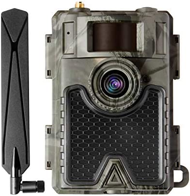 WingHome 4G Cellular Trail Camera 480Ace, 8/12/24MP FHD Wireless Game Camera with Free APP and SIM Card
