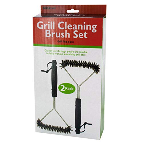 Barbecue Grill Cleaning Brush Set - 4/Pack (5 Pack)