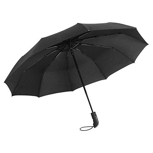 Windproof Umbrella Travel Lightweight Folding Automatic Umbrella - 41 inch Portable Bleacher System