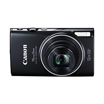 Canon PowerShot ELPH 350 HS 20.2 MP digital camera with 12x Optical Zoom (25–300mm), Built in NFC and WiFi, 1080P full HD video and 3.0 inch LCD (Certified Refurbished)