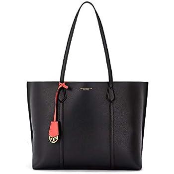 Tory Burch Block T Mini Tote 44614 Blue Yonder Handbags