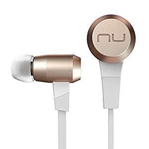 NuForce BE6 Superior Sounding Wireless Bluetooth Earphones with aptX and AAC Support, Gold