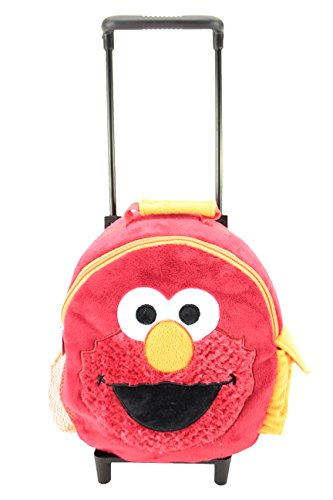 Animal Adventure Jolley TrolleyPlush BackpackSesame StreetElmo5 x 10