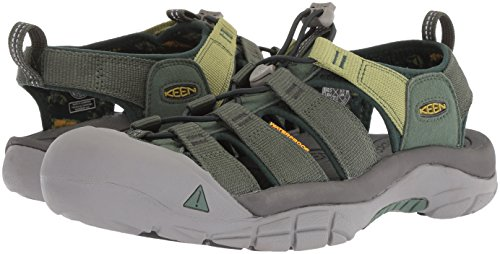 Keen Men's Newport Hydro-M Sandal, Duck Green/Darkest Spruce 7 M US