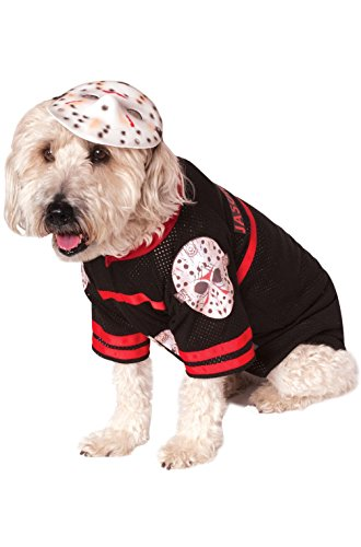 Mememall Fashion Jason Friday the 13th Pet Dog Costume (Friday The 13th Jason Teen Costume)