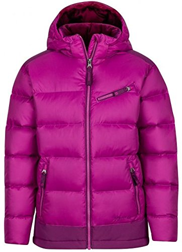 Marmot Kids Girl's Sling Shot Jacket (Little Kids/Big Kids) Purple Orchid/Deep Plum Medium by Marmot