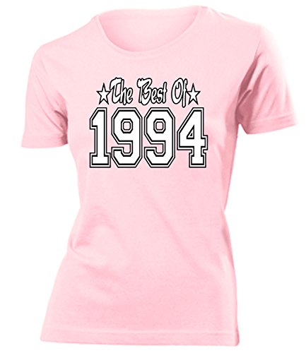 THE BEST OF 1994 - DELUXE - Birthday mujer camiseta Tamaño S to XXL varios colores Rosa