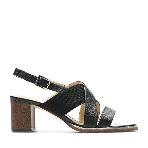 Sandales Noir Noir Pour Clarks Femme Pour Clarks Femme Sandales aWq1W