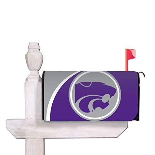 - VictoryStore Outdoor Mailbox Cover - Kansas State University, Circle, Magnetic Mailbox Cover