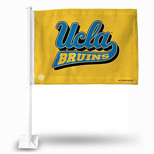Rico NCAA UCLA Car Flag, 8 x 1, Logo - Ucla Bruins Flag Car