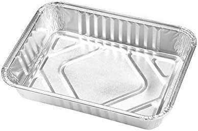 2 unidades Bandejas de aluminio desechables para horno