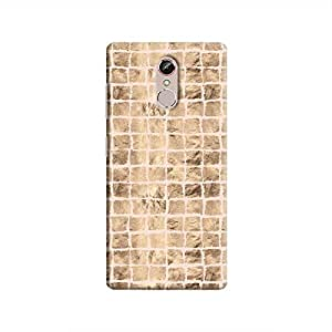 Cover It Up - Brown Pink Break Mosaic Gionee S6s Hard Case