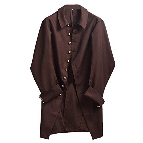 BLESSUME Colonial Men Coat Brown