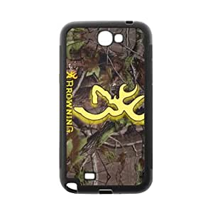 Browning Case Samsung Galaxy Note 2 N7100 TPU Best Designer Case Cover Protector Bumper
