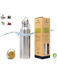 Ecozoi Vacuum Insulated Stainless Steel Hot Tea Thermos...