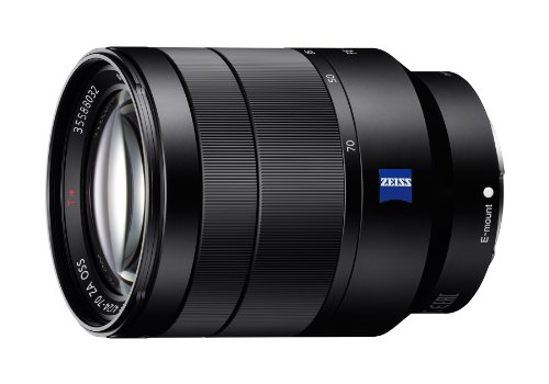 Sony 24 70Mm F 4 Vario Tessar T Fe Oss Interchangeable Full Frame Zoom Lens