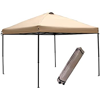 Abba Patio 10 x 10-Feet Outdoor Pop Up Portable Shade Instant Folding Canopy with  sc 1 st  Amazon.com & Amazon.com : Abba Patio 10 x 10-Feet Outdoor Pop Up Portable Shade ...