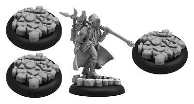 Privateer Press Grymkin: the Wanderer Miniature Game Model