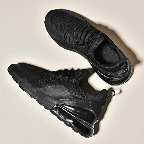 46eu Sneakers Uomo Corsa Donna 36 All'aperto Nero Casual Sportivo Scarpe Interior Da Air a Ginnastica 7BfwFx