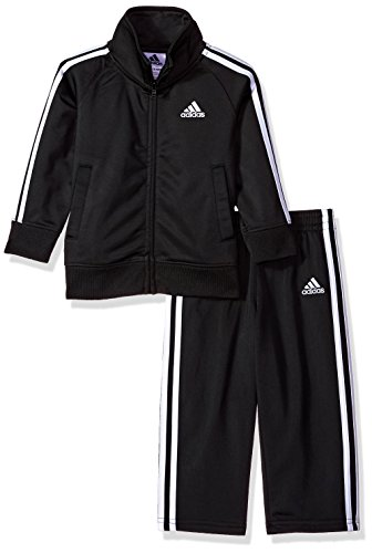 adidas Boys' Baby Tricot Jacket and Pant Set, Midnight Adi, 24M