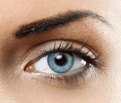 0780818b0e PHANTASY Eyes® HOLLYWOOD Lentillas de color natural (TOPAZ AZUL) 1 par (2