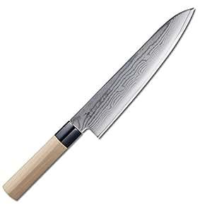 Tojiro Shippu - Cuchillo de chef (24 cm): Amazon.es ...