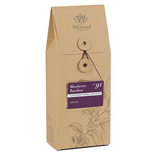 Whittard Tea Blueberry Rooibos Loose Leaf 100g