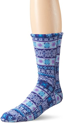 ACORN Unisex Versafit Sock Slipper, Icelandic Blue, Medium (Women's 10-11/ Men's 8.5-9.5) Standard US Width US