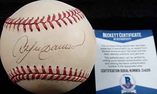 Andre Dawson Autographed Baseball (Beckett-BAS Andre Dawson Autographed Signed National League (Leonard Coleman) Baseball C14128)