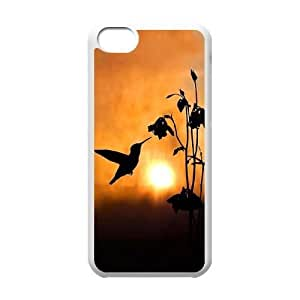 Hummingbird Wholesale DIY Cell Phone Case Cover for iPhone 5C, Hummingbird iPhone 5C Phone Case