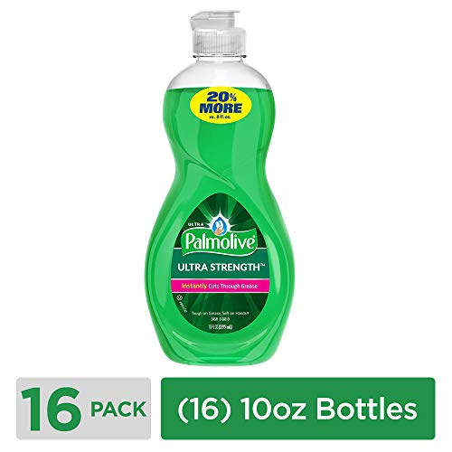Ultra Palmolive Dishwashing Liquid and Antibacterial Hand Soap, 10 oz Bottle, (Case of - Palmolive Ultra Antibacterial Colgate