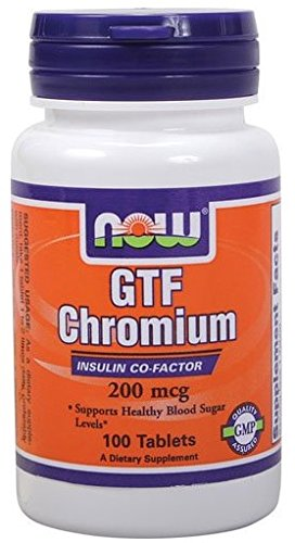 - GTF Chromium 200mcg 100 Tablets (Pack of 2)