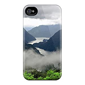 Case Cover, Fashionable Iphone 4/4s Case - Foggy Valley