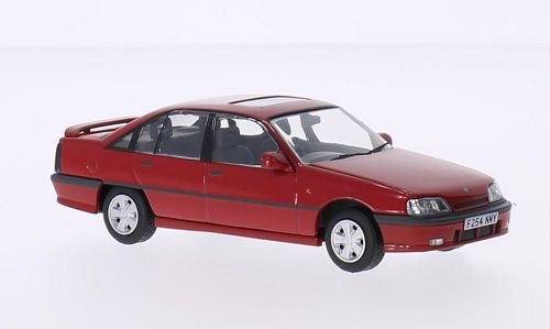 3000 Made Diecast Model - Vauxhall Carlton 3000 GSi, red, RHD, Model Car, Ready-made, Vanguards 1:43