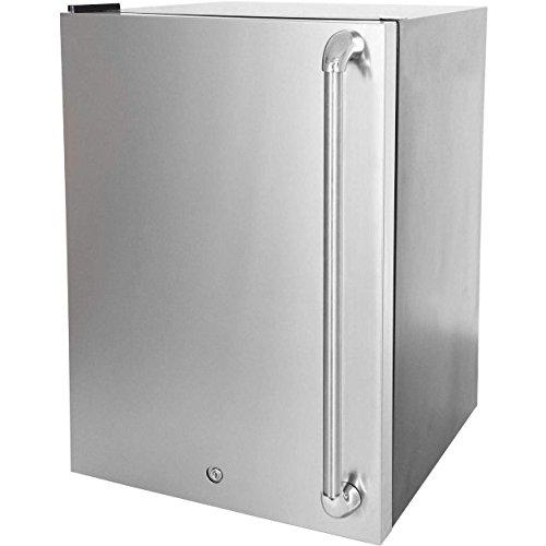 Blaze Stainless Front Door Upgrade 4.5 for Left Hinge (BLZ-SSRF130-BLZ-SSFP-4-5LH) ()