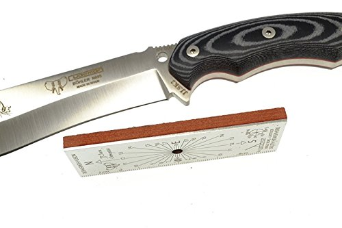 Survival-fixed-blade-knife-Cudeman-125-MC-JJSK2-with-Kit-black-color-and-leaf-153-cm